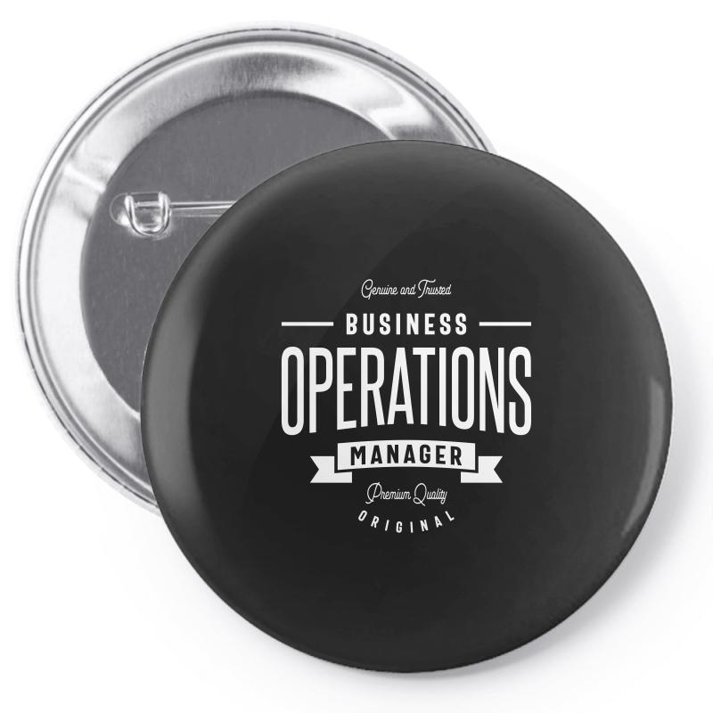 Business Operations Manager Pin-back Button | Artistshot