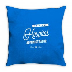 Hospital Administrator Throw Pillow | Artistshot