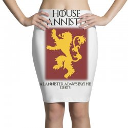 GOT Lannister house AZ Pencil Skirts | Artistshot