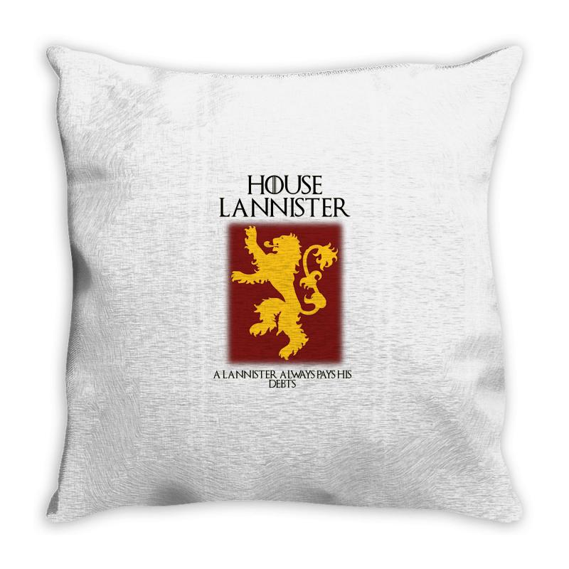 Got Lannister House Az Throw Pillow | Artistshot
