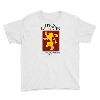 Got Lannister House Az Youth Tee Designed By Az