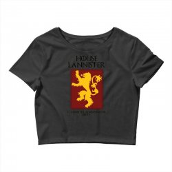 GOT Lannister house AZ Crop Top | Artistshot