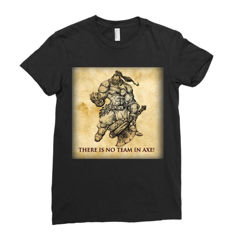 Dota 2 Axe Ladies Fitted T-shirt | Artistshot