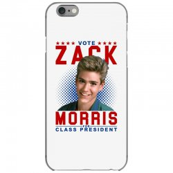 vote zack morris for class president iPhone 6/6s Case | Artistshot