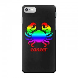 cancer rainbow zodiac iPhone 7 Case | Artistshot