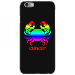 cancer rainbow zodiac iPhone 6/6s Case | Artistshot