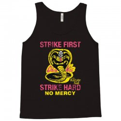strike first strike hard Tank Top | Artistshot