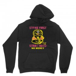 strike first strike hard Unisex Hoodie | Artistshot