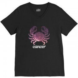 cancer galaxy zodiac for dark V-Neck Tee | Artistshot
