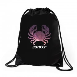 cancer galaxy zodiac for dark Drawstring Bags | Artistshot