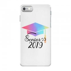 senior 2019 for light iPhone 7 Case | Artistshot