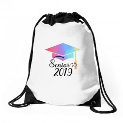 senior 2019 for light Drawstring Bags | Artistshot