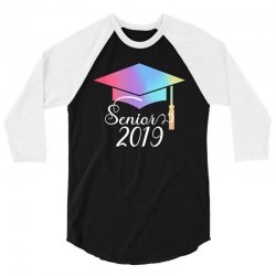 senior 2019 for dark 3/4 Sleeve Shirt | Artistshot