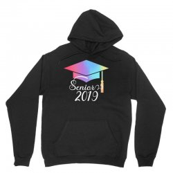 senior 2019 for dark Unisex Hoodie | Artistshot