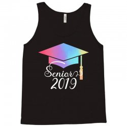 senior 2019 for dark Tank Top | Artistshot
