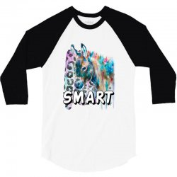 smart donkey 3/4 Sleeve Shirt | Artistshot
