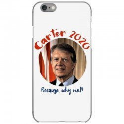 carter 2020 because why not iPhone 6/6s Case | Artistshot