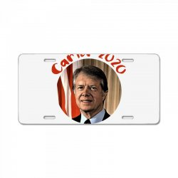 carter 2020 because why not License Plate | Artistshot