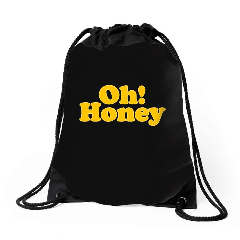 Oh Honey Drawstring Bags | Artistshot