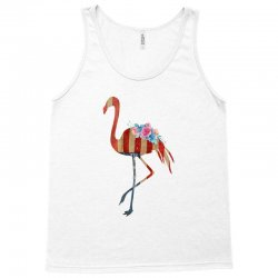 american flag flamingo Tank Top | Artistshot