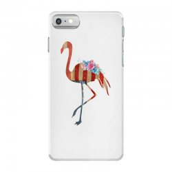 american flag flamingo iPhone 7 Case | Artistshot