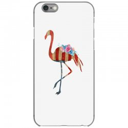 american flag flamingo iPhone 6/6s Case | Artistshot