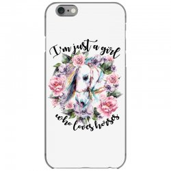 i'm just a girl who loves horses iPhone 6/6s Case | Artistshot