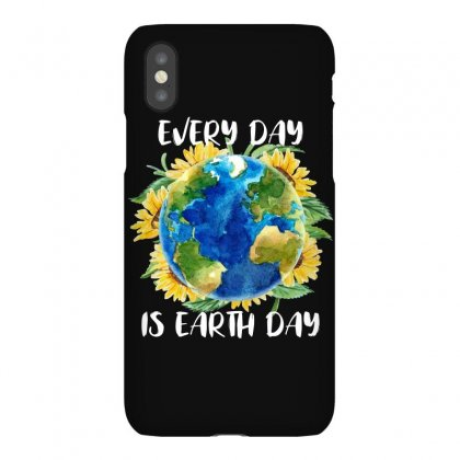 Every Day Is Earth Day For Dark Iphonex Case Designed By Sengul