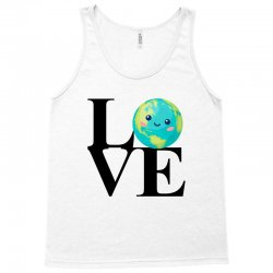 love world environment day for light Tank Top | Artistshot