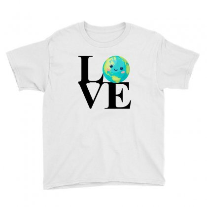 Love World Environment Day For Light Youth Tee Designed By Sengul