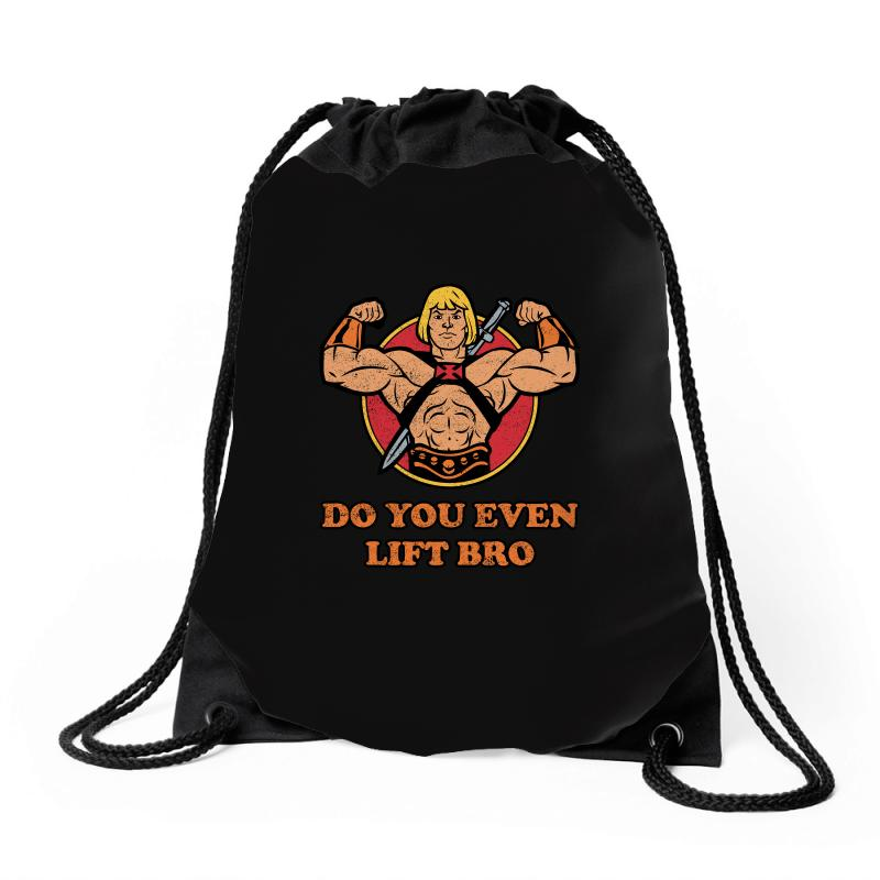 Do You Even Lift Bro Drawstring Bags | Artistshot