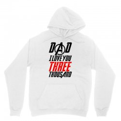 dad i love you three thousand for light Unisex Hoodie | Artistshot