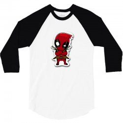 dead pool 3/4 Sleeve Shirt | Artistshot