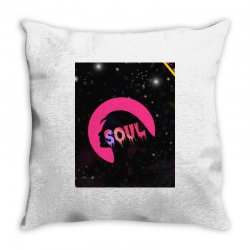 The soul Throw Pillow | Artistshot