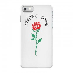 strong love iPhone 7 Case | Artistshot