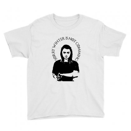 Game Of Thrones Arya Stark Maisie Williams Youth Tee Designed By Akrem