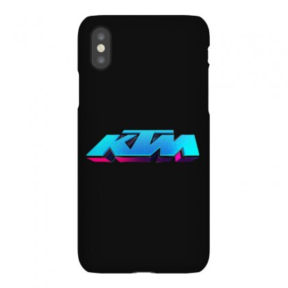 Ktm Racing License Plate Iphonex Case Designed By Tiococacola