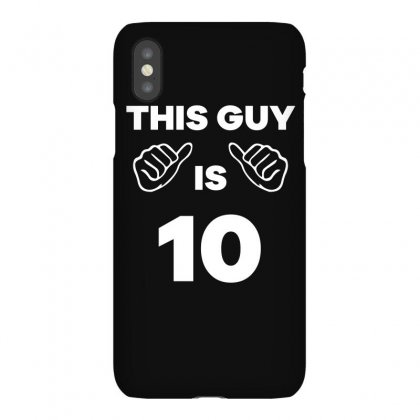 This Guy Is 10 Years Old Funny 10th Birthday T Shirt Iphonex Case Designed By Hung