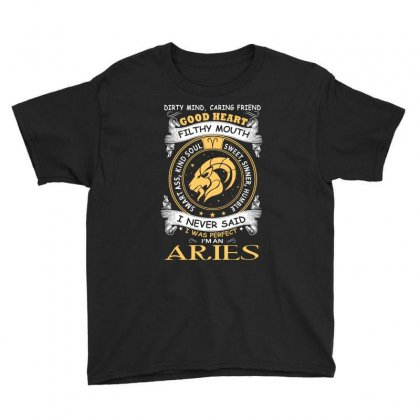 I Never Said I Was Perfect I Am An Aries Women T Shirt Youth Tee Designed By Hung