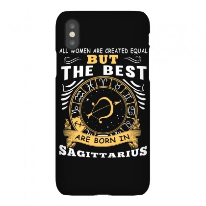 Only The Best Are Born As Sagittarius Zodiac Signs Horoscope T Shirt Iphonex Case Designed By Hung