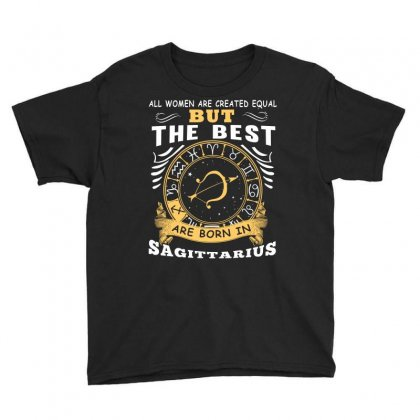 Only The Best Are Born As Sagittarius Zodiac Signs Horoscope T Shirt Youth Tee Designed By Hung