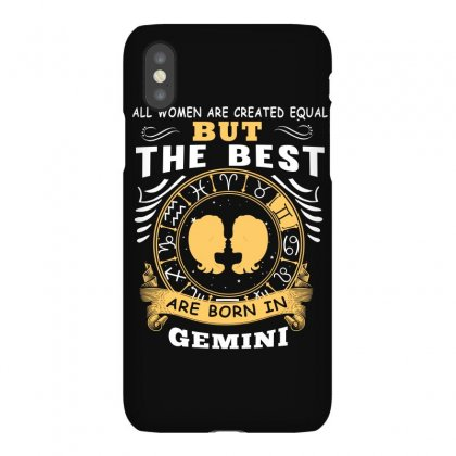 Only The Best Are Born As Gemini Zodiac Signs Horoscope T Shirt Iphonex Case Designed By Hung