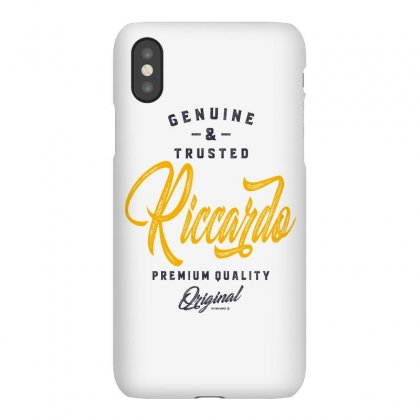 Is Your Name, Riccardo. This Shirt Is For You! Iphonex Case Designed By Chris Ceconello