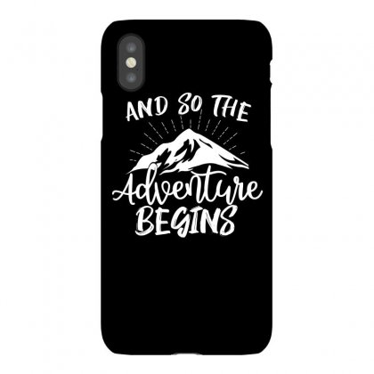 And So The Adventure Begins Iphonex Case Designed By Cogentprint