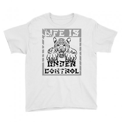 Under Control Youth Tee Designed By Akrem
