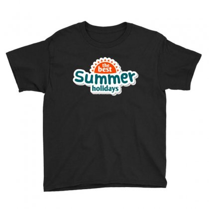 The Best Summer Holidays Youth Tee Designed By Vanitty