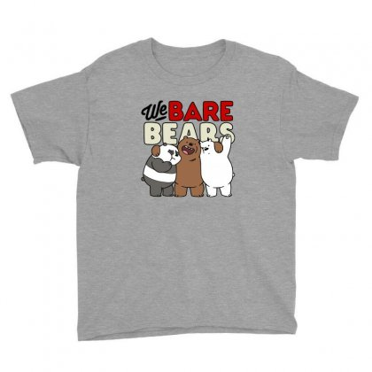 We Bare Bears Youth Tee Designed By Nurbetulk
