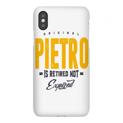 Is Your Name, Pietro. This Shirt Is For You! Iphonex Case Designed By Chris Ceconello