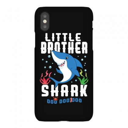 Little Brother Shark Family Matching Iphonex Case Designed By Artees Artwork