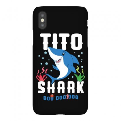 Tito Shark Family Matching Iphonex Case Designed By Artees Artwork